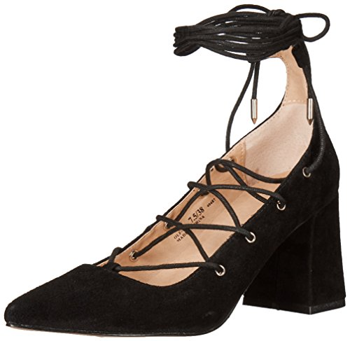 Chinese Laundry Women's Odelle Dress Pump, Black Suede, 11 M US