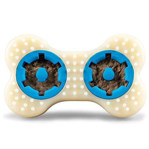 PetSafe Busy Buddy Forever Bone Hunde Kauspielzeug, Snackspielzeug für starke Kauer, strapazierfähig, für kleine Hunde