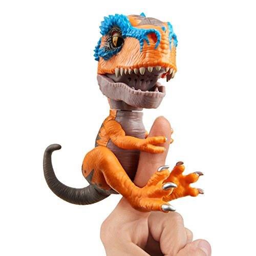 Wow Wee Scratch Fingerlings T-Rex, Naranja, Talla Única