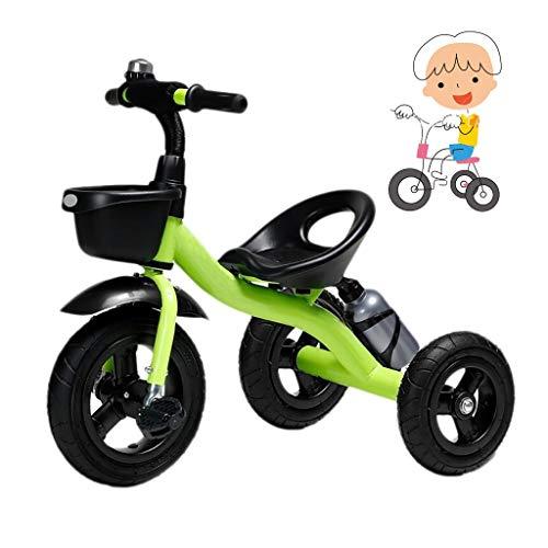 Triciclo los niños juguete for montar de 2 años de edad en triciclo niño grande plegado del cochecito niño triciclo niña regalo de cumpleaños del triciclo de tres ruedas 1 principiante 1-6 años de eda