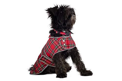 Abrigo de Muddy Paws para Perros con Estampado tartán escoc