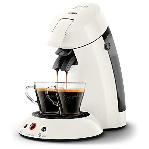 Philips HD6554/11 Machine à Café à Dosettes Senseo Original Blanc Givré 0, 75 Litre