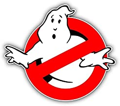 """2 Pcs LED Ghostbusters Signs 5/""""x20/"""" CAR MAGNETS Ecto-1a Removable Auto Decal USA"""