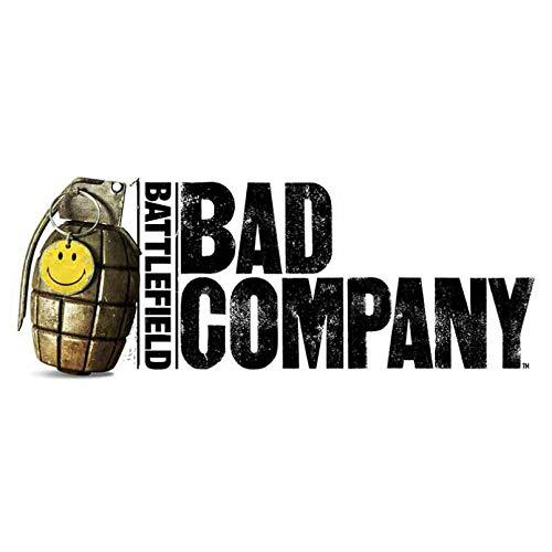 GDYL Etiquetas Engomadas del Coche Pegatinas De Coche con Personalidad, Accesorios De Battlefield Bad Company, Cubierta De Motocicleta, Arañazos, PVC Impermeable 13Cm * 6Cm