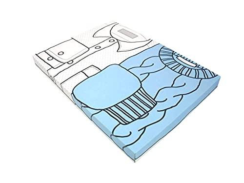 リバーシブルボックス 配送 インテリア収納 ダンボール フリマ 3cm対応 ネコポス ゆうパケット クリックポスト A4サイズ 書類 (10)