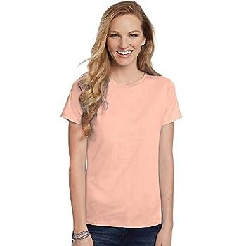 Hanes Women s T-Shirt - XXX-Large - Candy Orange