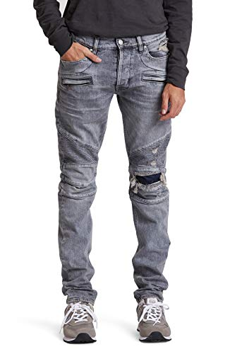 HUDSON Jeans Men's The Blinder Biker Denim, and one, 34