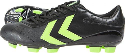 Hummel Rapid X Blade SMU Fußballschuhe schwarz black - green gecko, 42.5 (UK 8.5)