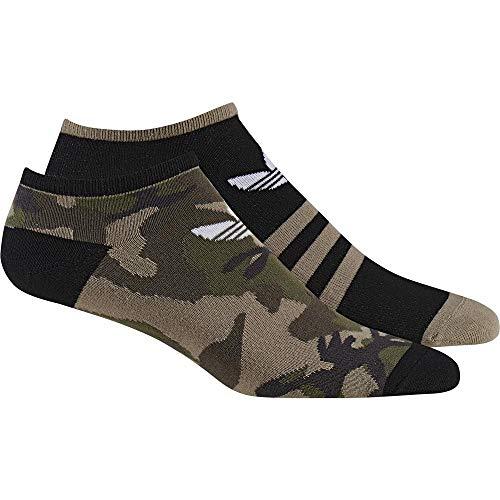 adidas Camo Liner 2Pp Socken, Unisex Erwachsene, Mehrfarbig (Multi/Schwarz/Weiß), 39/42