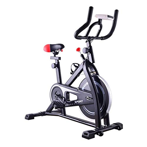 Giro de la bici, bicicleta estacionaria bicicleta estática, magnético bicicleta estática reclinada, Silent bicicleta estática con pantalla LCD y la prueba del ritmo cardíaco, sistema de resistencia aj
