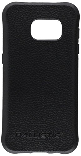 Galaxy S7 Case, Ballistic [Urbanite Select] Six-Sided Drop Protection [Black w/Buffalo Leather] 6ft Drop Test Certified Case Reinforced Corner Protective Cover for Samsung Galaxy S7 - (UT1688-B22N)