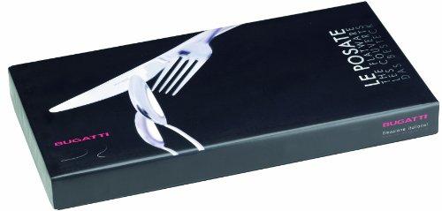Bugatti CSC1T-S1750 Aladdin Cristallo, 24 Teilig, Acero Inoxidable/acrílico, 39 x 27 x 5 cm