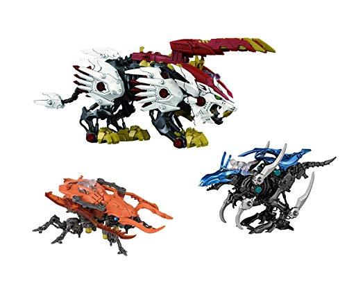 ZOIDS Wild ZW25 Beast Liger & ZW27 RAPTORIA & ZW37 KUWAGANOS Set of 3