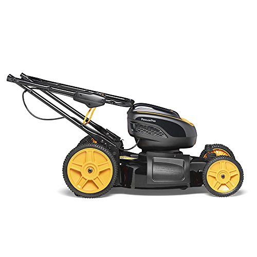 Poulan Pro PRLM21i, 58-Volt Cordless 21 in. 3-in-1 Push Lawn Mower (Battery Included)