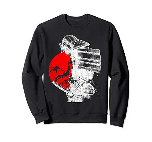 Stolzer Japanischer Samurai-Krieger Bushido Sweatshirt
