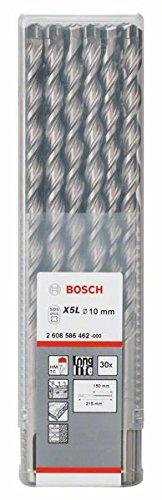 Preisvergleich Produktbild Bosch Professional Hammerbohrer SDS-plus-7 (30 Stück,  Ø 10 mm)