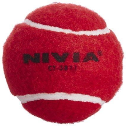 Nivia Schwerer Tennisball Cricket Ball (6erPack)