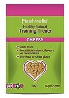 Feelwell's Healthy Natural Training Dog Treats Cheesy 115g Foods - Dog - Treats Pre-Pack