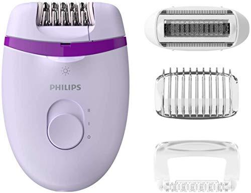 Philips Depiladora en seco y húmedo BRP531/00 Epilierer, Kunststoff, Weiß