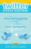 Twitter Means Business: How microblogging Can Help or Hurt Your Company (English Edition)