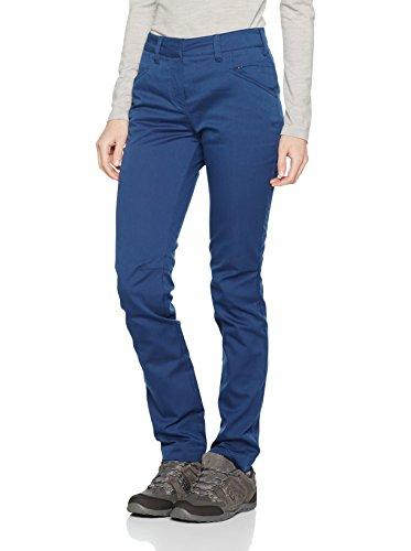 Salewa Fanes Chino DST W PNT - Pantalon pour Femme, Couleur Bleu, Taille 48/42
