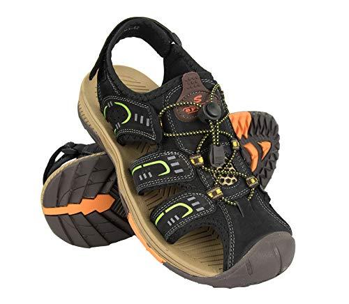 Zerimar Sandali da Uomo | Sandali da Trekking da Uomo | Sandals Man Hiking | Sandali di Cuoio da Uomo | Sandali Estivi da Uomo