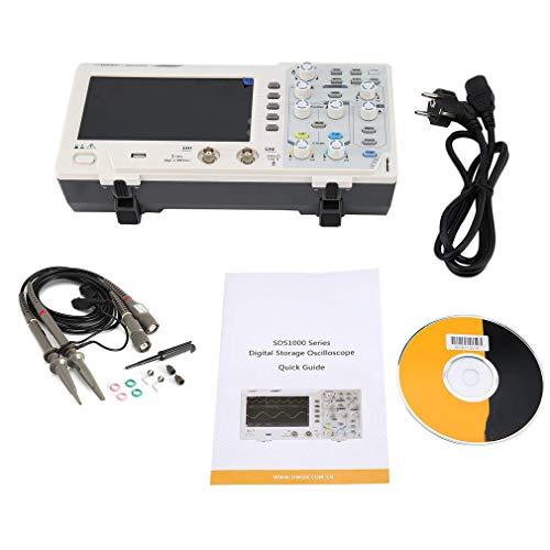 SISHUINIANHUA 1102 Doppelkanal-LCD Superökonomischer Typ Digitales Speicheroszilloskop Scopemeter Scope Meter 100MHz 1GSa / s