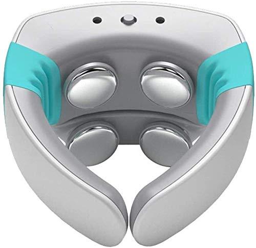 SOAR Masajeador de Cuello Inteligente Massager del Cuello con función de calefacción, Deep Tissue 3D Amasado inalámbrica del Cuello del Recorrido Aparato de Masaje