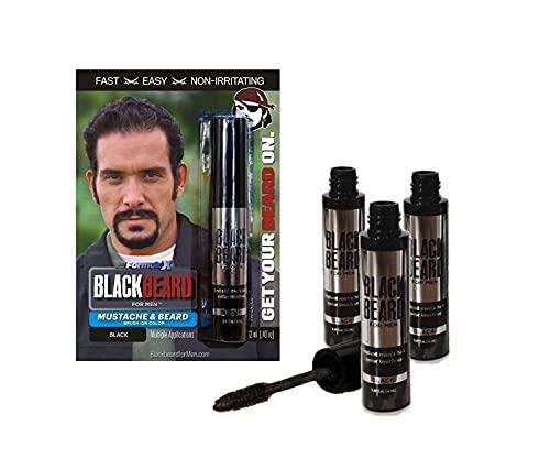 Blackbeard for Men Formula X Instant Mustache,...