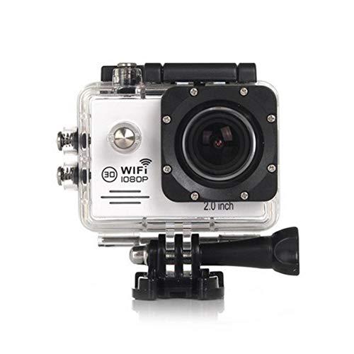 CYYMY 1080p Action Cam,Hyper Stabilizzazione Videocamera, Fotocamera Impermeabile con Funzione,170° Grandangolare,30m con Fotocamera Subacquea Digitale,per Sport e attività,3