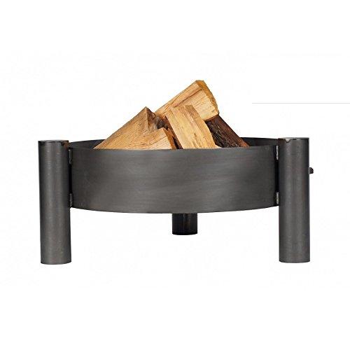 Farmcook Feuerschale PAN 33 Stahl unbehandelt in DREI Größen (Ø 70 cm)
