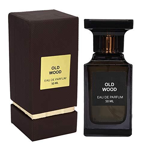 Men Eau De Toilette Spray, Perfume para hombre con fragancia duradera, 50ml Eau De Parfum Spray para hombre - Wood Oriental Note