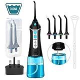 Water Flosser for Teeth, Nicefeel Portable Oral Irrigator Dental Floss IPX7 Waterproof 300ML
