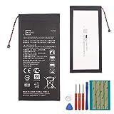 E-yiiviil - Batteria di ricambio HZ40 compatibile con Moto Z2 Play XT1710 SNN5985A 3,8V con strumenti