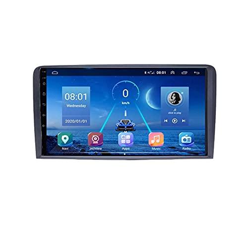 GOHHK 4G + 64G Android 9.0 Auto Multimedia Player Auto Radio Für Audi A3 A4 A6 TT 2008-2012 Navigation BT-Reifen Carplay GPS 2 DIN DVD(Size:Achtkern,Color:WiFi:1GB+16GB)