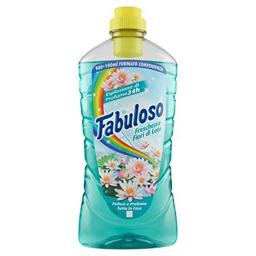 Fabuloso - Detergente Liquido per Superfici Casa, Freschezza Fior di Loto - 1000 ml