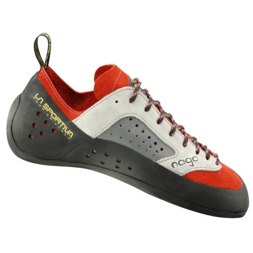 La Sportiva Nago Rock Shoe - Mens Climbing shoes 45 Red