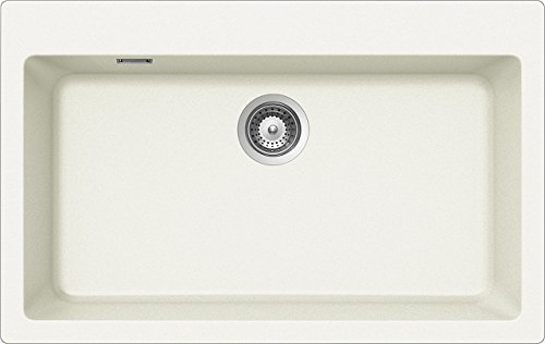 Schock Primus N100XL AP 07 - Fregadero (Fregadero encastrado bajo encimera, Rectangular, Blanco, 1 senos, Rectangular, 720 x 384 mm)