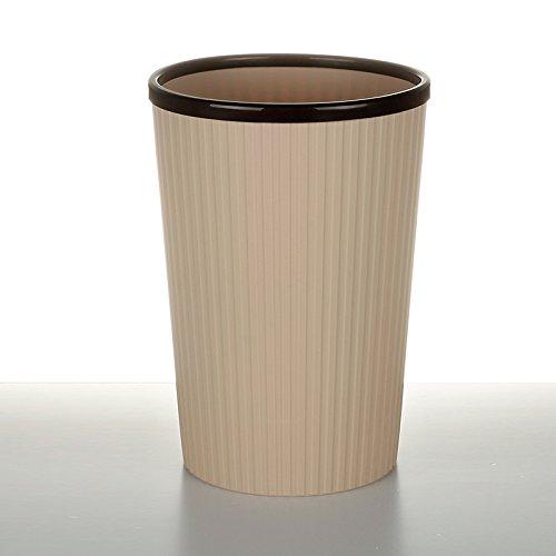 fuckluy Bacs à ordures extérieurs Il n'y a Pas de Couvercle Toilettes Cuisine Chambres d'accueil avec l'anneau de Pression la Corbeille de Bureau Grand Panier, G (22,5 * 34cm)