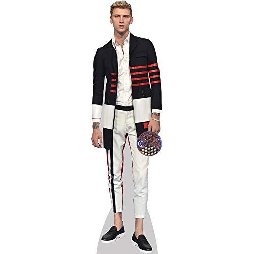 Celebrity Cutouts Machine Gun Kelly (White Trousers) Pappaufsteller Mini
