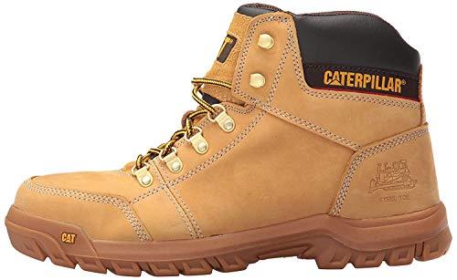 Caterpillar Men's Outline Steel Toe Work Boot, Honey Reset, 8.5 M US