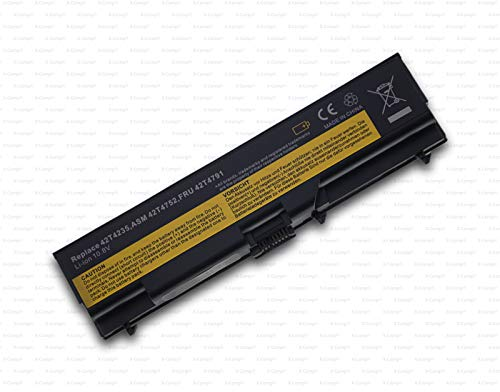 X-Comp Compatible Replacement Battery 42T4702 5200 mAh for Lenovo ThinkPad Edge E420 E425 E50 E520 E525 ThinkPad E40 E50 L410 L412 L420 Series
