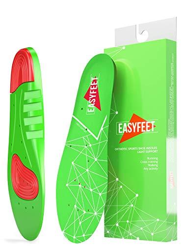 Shoe Inserts Men & Women - Running Insoles Men - Athletic Insoles for Men - Sport Shoe Insoles Women - Extra Cushioning Insoles – Feet Support - Pain Relief