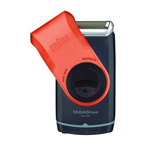 Braun Mobile Pocket Shaver M60 Red