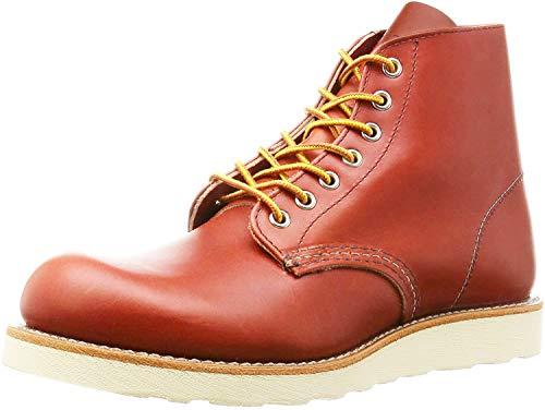 [レッドウィング] 8166 6inch CLASSIC PLAIN TOE ブーツ オロ・ラセット 赤茶 -4D-約22cm