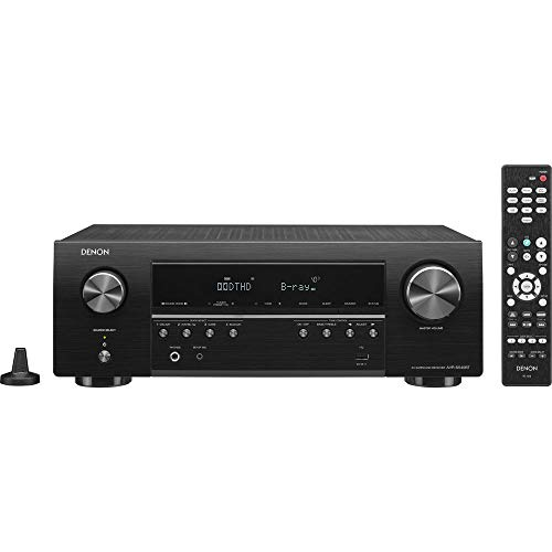 Denon AV Receiver Audio & Video Component Receiver BLACK (AVRS540BT) (Renewed)
