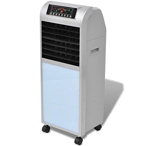 vidaXL Luftkühler Lüfter Luftbefeuchter 120W 8 L 385 m³/h 37,5×35×94,5 cm