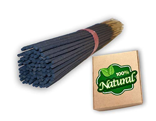 Bless International 100%-Natural-Incense-Sticks Handmade-Hand-Dipped The-Best-Scent (Frankincense and Myrrh, 100 Incense Sticks)