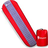 Self Inflating Sleeping Pad for Camping - Comfortable Air Mattress for Adults, Lightweight