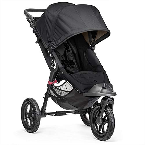 Baby Jogger City Elite Kinderwagen, Schwarz